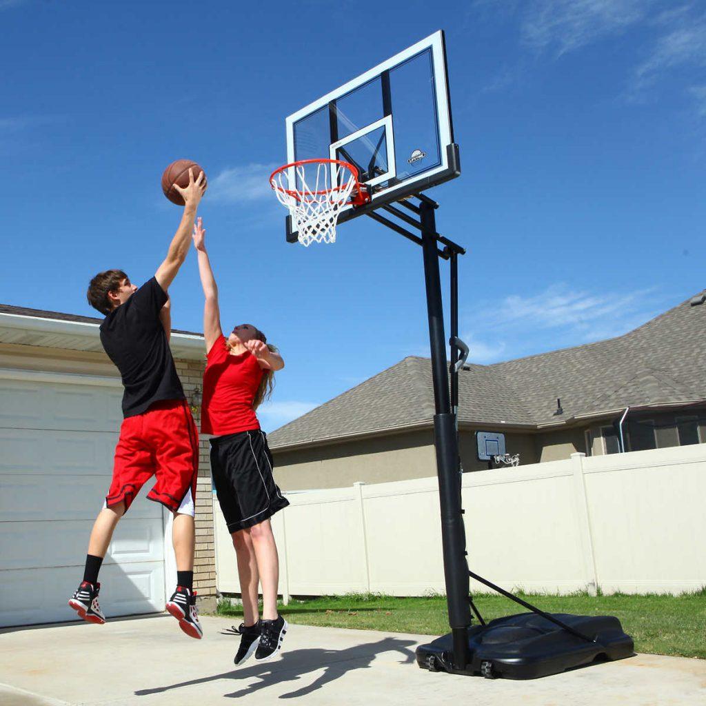 Flytbar basketball stander