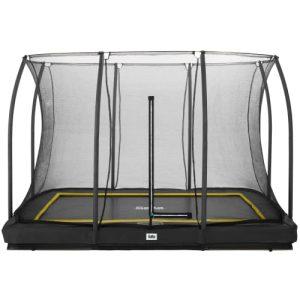 Salta trampolin med net – Comfort Ground – 214 x 305 cm