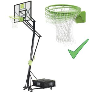 Exit Galaxy flytbar basketstander m/dunkring just.bar 230-305 cm